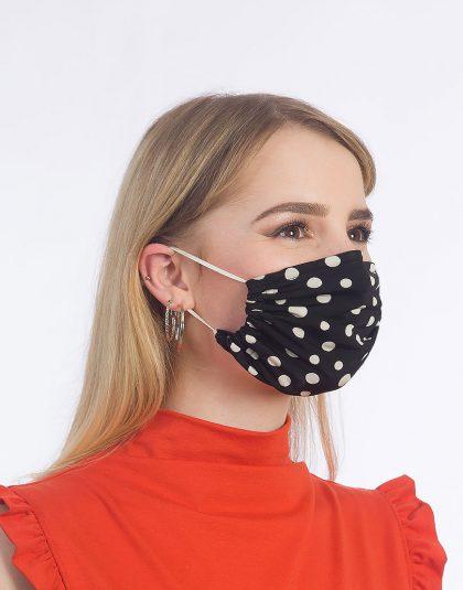 polka dots Maske made in Hamburg