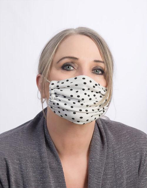 Pünktchen Maske made in Hamburg