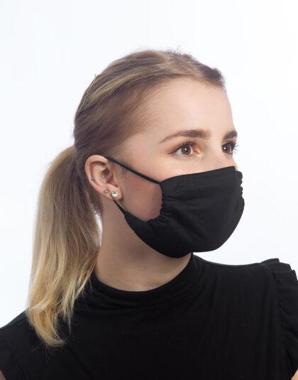 schwarze Maske made in Hamburg
