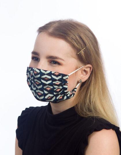 Maske retro print made in Hamburg