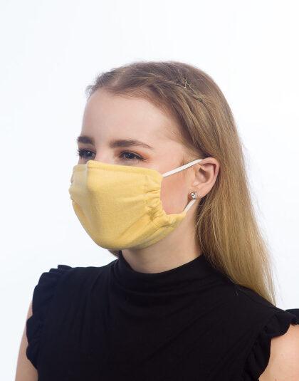gelbe Maske made in Hamburg